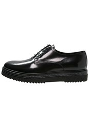 Alberto Guardiani Casual Laceups Black