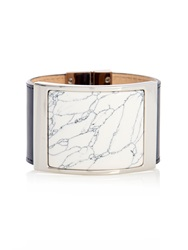Balenciaga Marble Effect Plate Leather Cuff