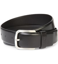 Hugo Boss Keeper Leather Belt Black