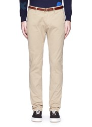 Scotch And Soda 'Stuart' Garment Dyed Slim Fit Chinos Neutral