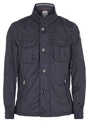 Moncler Mate Navy Water Repellent Shell Jacket