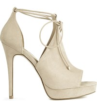 Aldo Tilley Heeled Sandals Bone