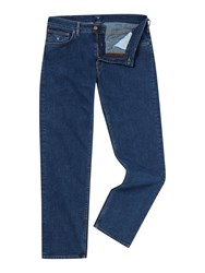 Gant Regular Fit Straight Leg Jeans Denim