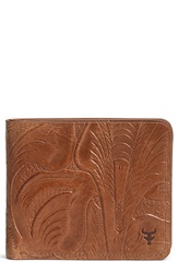 Trask 'Jackson' Slimfold Italian Steer Leather Wallet Tan