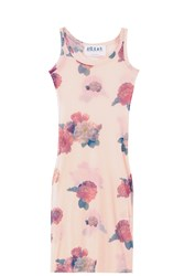 A.W.A.K.E Flower Bodycon Dress Multi