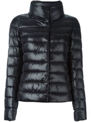 Herno Long Sleeved Padded Jacket Black