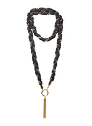 Agnona Long Plaited Chain Necklace