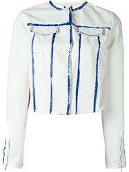 Aviu Aviu Panelled Jacket White