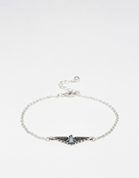 Asos Bracelet With Aztec Bird Multi