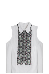 Peter Pilotto Atom Embroidered Shirt
