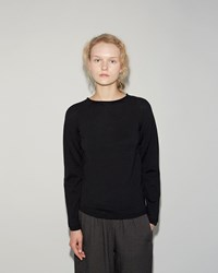 Comme Des Garcons Wool Pullover Black