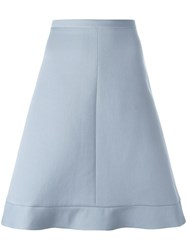 Red Valentino A Line Skirt Blue