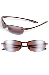 Maui Jim 'Makaha Polarizedplus 2' 63Mm Sunglasses Tortoise Rose