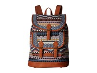 American West Santa Fe Backpack Multicolor Tan Backpack Bags