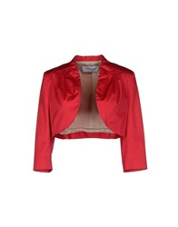 Flavio Castellani Suits And Jackets Blazers Women Red