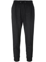Brunello Cucinelli 'Lignite' Track Pants Grey