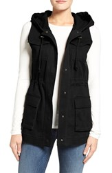 Matty M Women's Hooded Military Vest