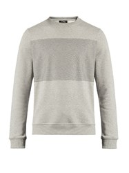 A.P.C. Crew Neck Cotton Sweatshirt Grey