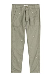 The Great The Slouchy Army Pants Green
