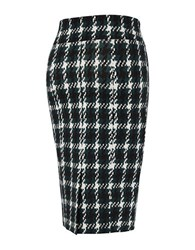 Melissa Mccarthy Seven7 Plus Houndstooth Pencil Skirt Pine Grove