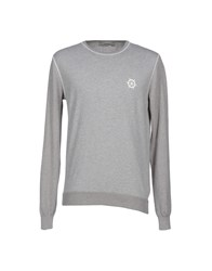 M.Grifoni Denim Knitwear Jumpers Men Light Grey