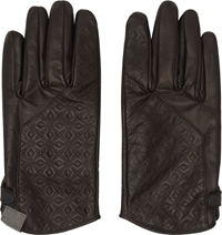 White Mountaineering Leather Embossed Gloves