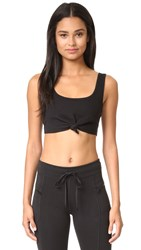 Free People Movement Flashdance Crop Top Black