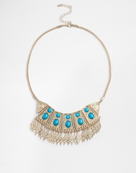 Love Rocks Aztec Necklace Gold