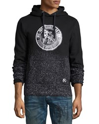 Prps Logo Patch Pullover Hoodie Black