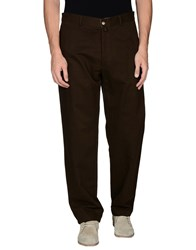 Lacoste Trousers Casual Trousers Men Dark Brown