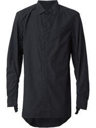 11 By Boris Bidjan Saberi Creased Shirt Black