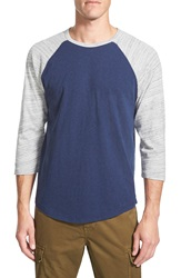 Lucky Brand Baseball T Shirt Blue Multi