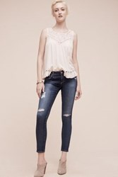 Anthropologie Ag Legging Low Rise Ankle Jeans Tinted Denim