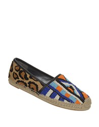 Sam Edelman Lida Brahama Hair Beaded Flats Multi