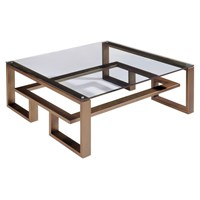 Villiers Brooklyn Coffee Table Old Penny Bronze