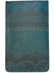 Etro Floral Paisley Print Iphone 6 Case Blue