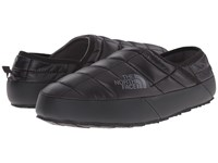 The North Face Thermoball Traction Mule Ii Shiny Tnf Black Zinc Grey Men's Slip On Shoes
