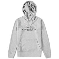 Saturdays Surf Nyc Ditch Miller Pullover Hoody Grey