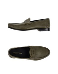 Sergio Rossi Moccasins Military Green