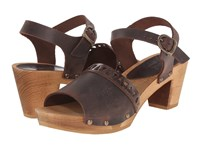 Sanita Fryd Square Flex Sandal Antique Brown Women's Sandals