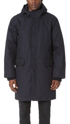 Steven Alan Ice Parka Deep Navy