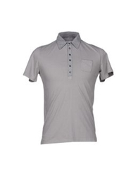 Kaos Polo Shirts Grey