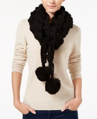 Betsey Johnson Wrap It Up Scarf Black