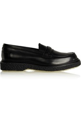 Adieu Type 29 Glossed Leather Loafers Black