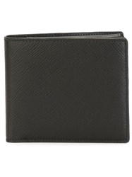Smythson Square Wallet Black
