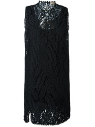 N 21 No21 Lace Sleeveless Dress Black