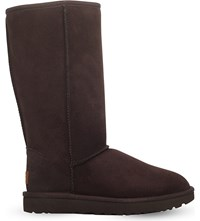 Ugg Classic Ii Tall Sheepskin Boots Dark Brown