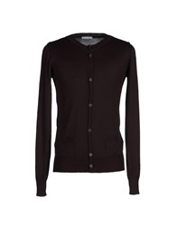 Societe Anonyme Knitwear Cardigans Men Dark Brown