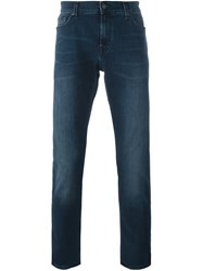 7 For All Mankind 'Ronnie' Skinny Jeans Blue