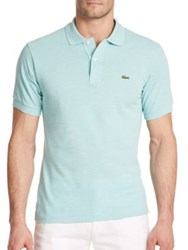 Lacoste Classic Cotton Pique Polo Mimosa Dark Green Dark Red Light Olive Silver Medi